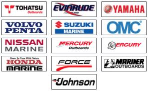 Piranha Propeller's Support : Evinrude, Force, Honda, Johnson, Mariner, Mercruiser, Mercury, Nissan, OMC, Suzuki, Tohatsu, Volvo, Yamaha