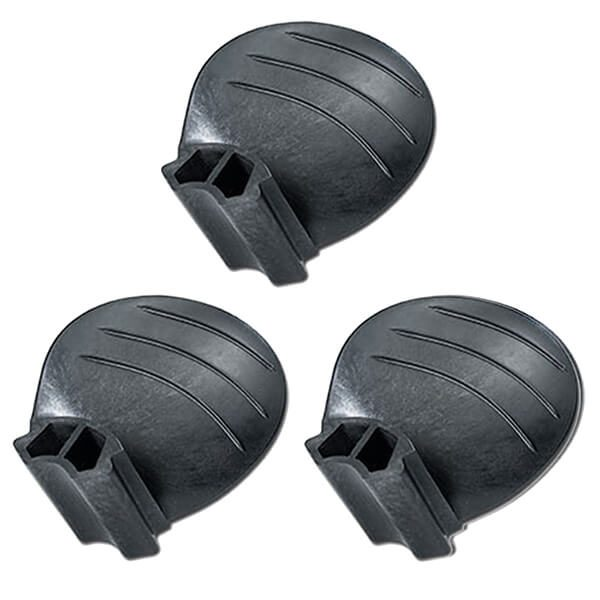 "Piranha Replacement Blades - Set of 3 - Fits ""D & E"" size 3-Blade Hub - 10D x 15P - RH Rotation"